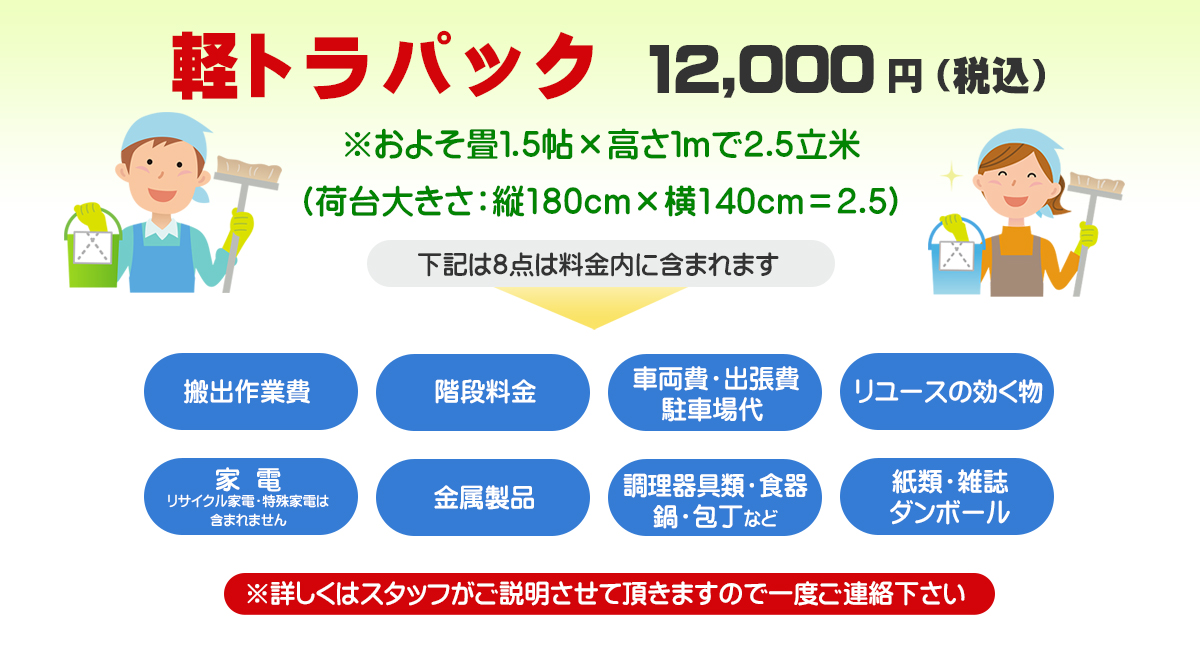 キレイネ「不用品回収・ハウスクリーニングなど東京・埼玉・神奈川・千葉・関東一円で承ります。